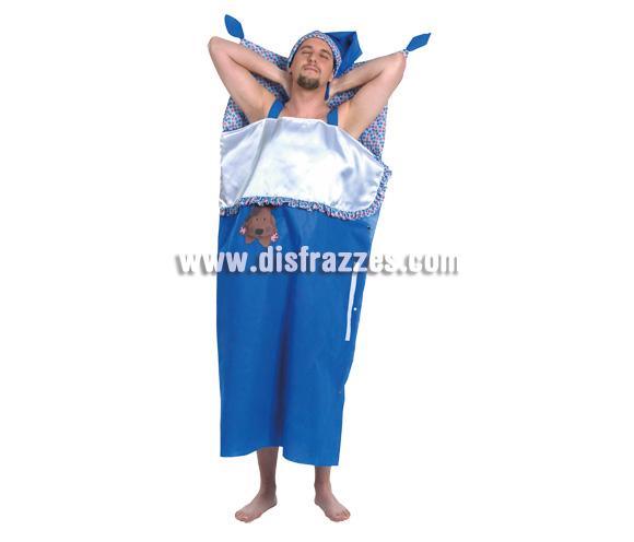 Disfraz de Hombre en cama adulto. Talla única. Incluye disfraz.