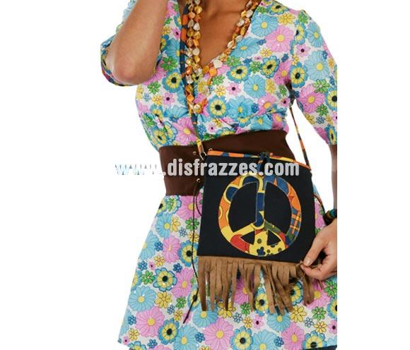 Bolso de Hippie. El complemento perfecto para el disfraz perfecto. ¡¡¡Paz y amor!!!