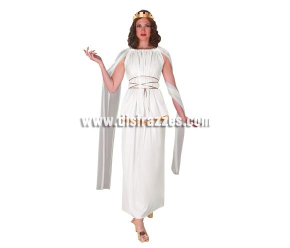 Disfraz de Athena para mujer. Talla 44. Incluye vestido. Disfraz de Romana para chicas.