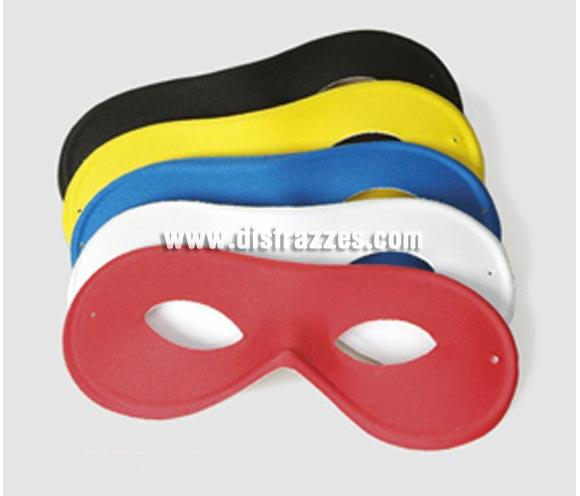 Antifaz Pierrot de color negro. Puede servir también como antifaz de ladrón o incluso de El Zorro.