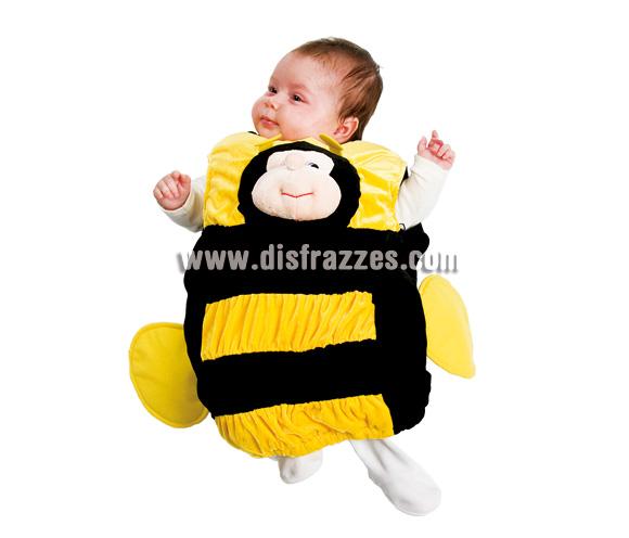 Disfraz de Abeja para bebés. Talla de 3 a 12 meses. Incluye disfraz peluche.