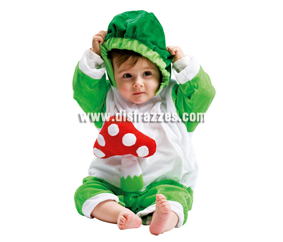 Disfraz de Seta para bebé. Talla de 3 a 12 meses. Incluye disfraz.
