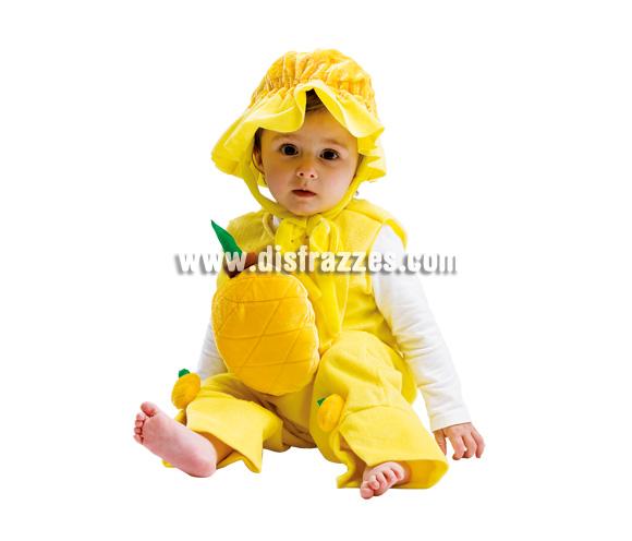 Disfraz de Piña para bebé. Talla de 3 a 12 meses. Incluye disfraz.