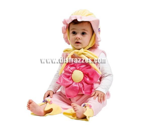 Disfraz de Flor para bebé. Talla de 3 a 12 meses. Incluye disfraz.