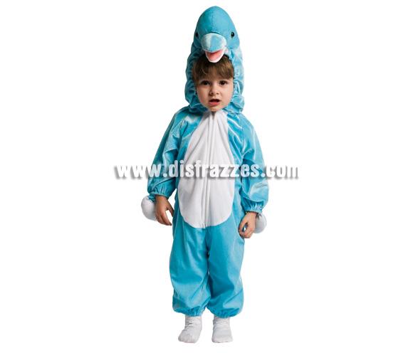 Disfraz de Delfín para niños. Incluye disfraz.