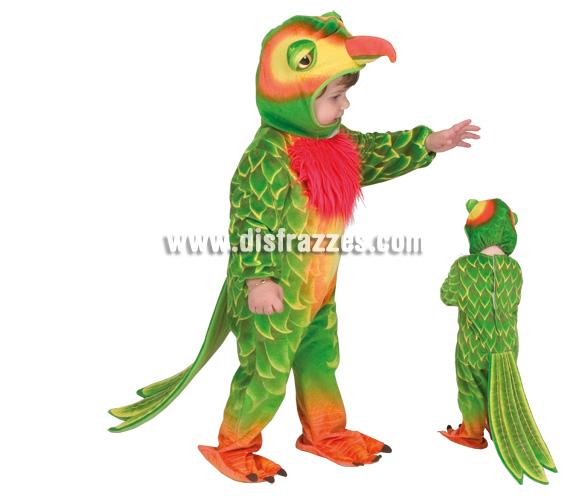 Disfraz de Papagayo, Loro o Periquito para niños. Incluye disfraz.
