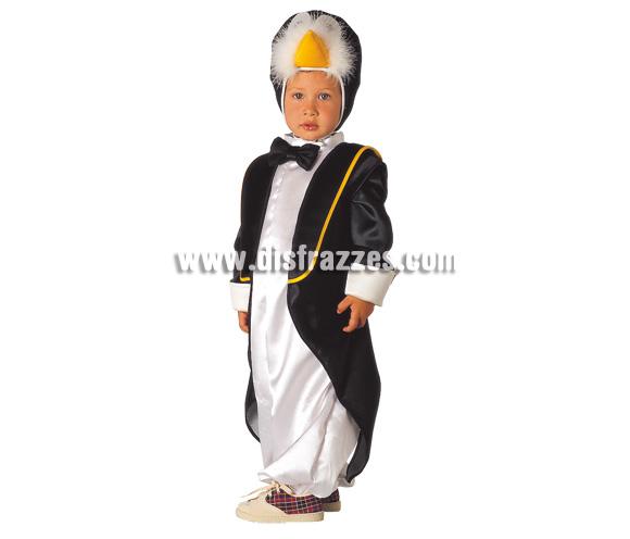 Disfraz de Pingüino para niños. Varias tallas. Incluye disfraz.