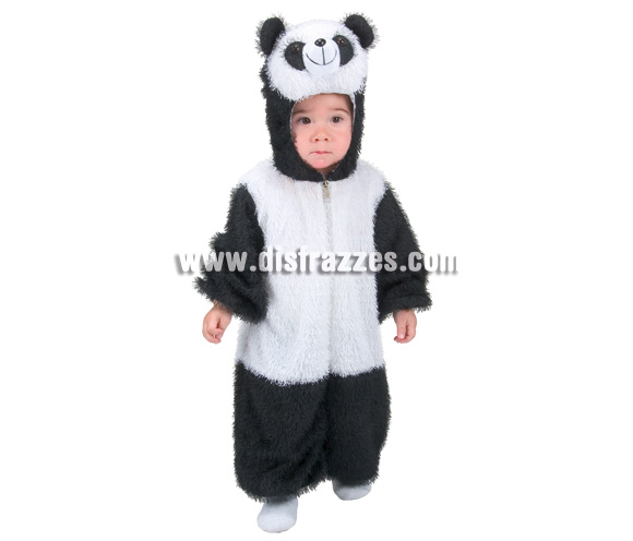 Disfraz de Oso Panda para niños. Varias tallas. Incluye disfraz.