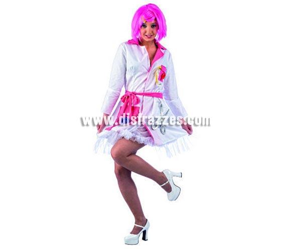 Disfraz de Lolitas Costurera Deluxe adulta. Alta calidad, hecho en España. Disponible en varias tallas. Incluye vestido. Peluca NO incluida, podrás encontrar pelucas en la sección de Complementos.