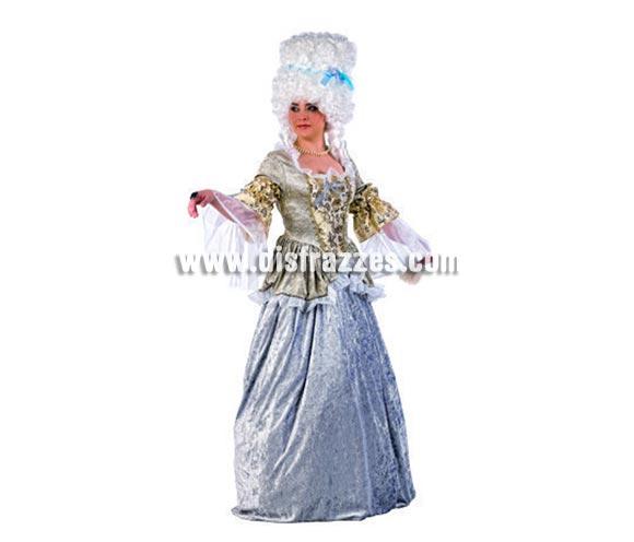 Disfraz de Dama Época Deluxe para mujer. Alta calidad, hecho en España. Disponible en varias tallas. Incluye camisa y falda. Peluca NO incluida, podrás encontrar pelucas en la sección de Complementos.