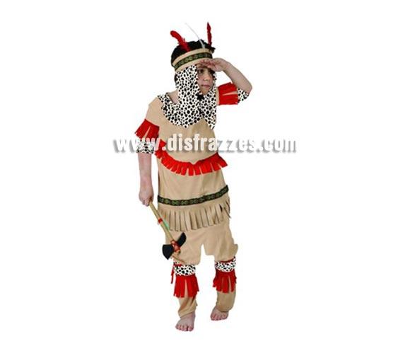 Disfraz barato de Indio Piel Roja para niños de 5-6 años