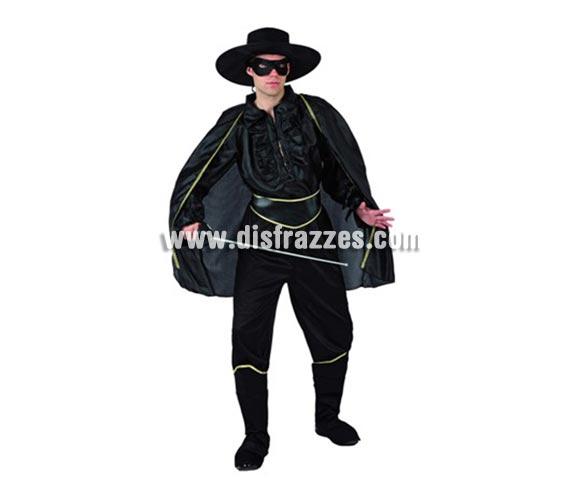 Disfraz de Bandido para hombre. Talla Standar M-L = 52/54. Espada NO incluida, podrás verlas en la sección de Complementos.