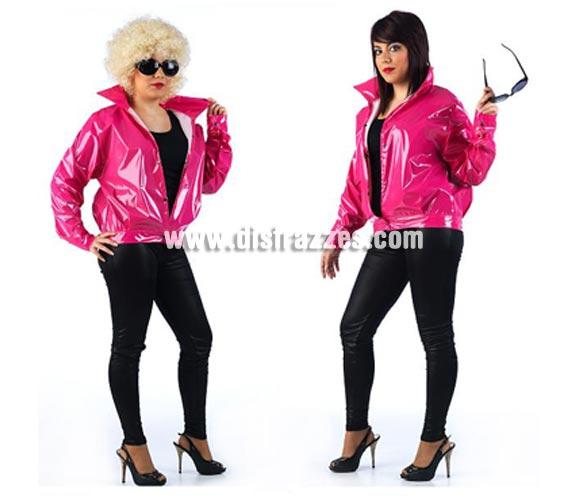 Chaqueta de Rockera Pink Ladies para mujer