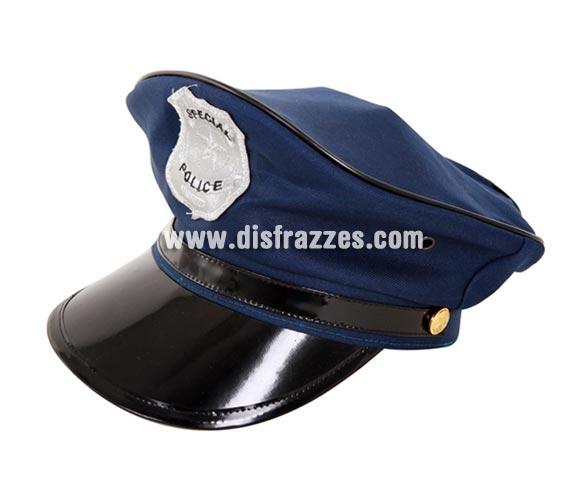 Gorra de Policía para adulto.