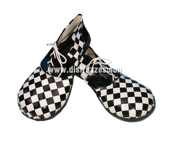 Zapatones de Payaso para hombre 37cm