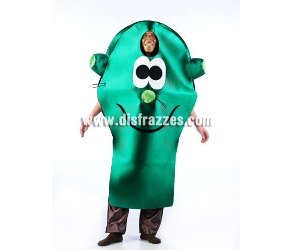 Disfraz de Pincho o Cactus de los Fruitis para adultos. Talla Universal. Incluye disfraz de pincho, pantalón NO incluido. Éste disfraz es perfecto para ir disfrazado diferente al resto.
