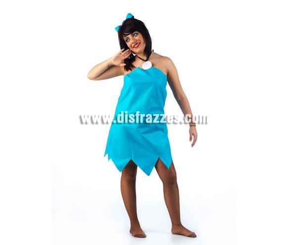 Disfraz de Betty Mármol de los Picapiedra para mujer. Disponible en 2 tallas. Incluye vestido y lazo. Éstos disfraces se pueden confeccionar para grupos en tallas para niños, consultar posibilidad y precio por email.
