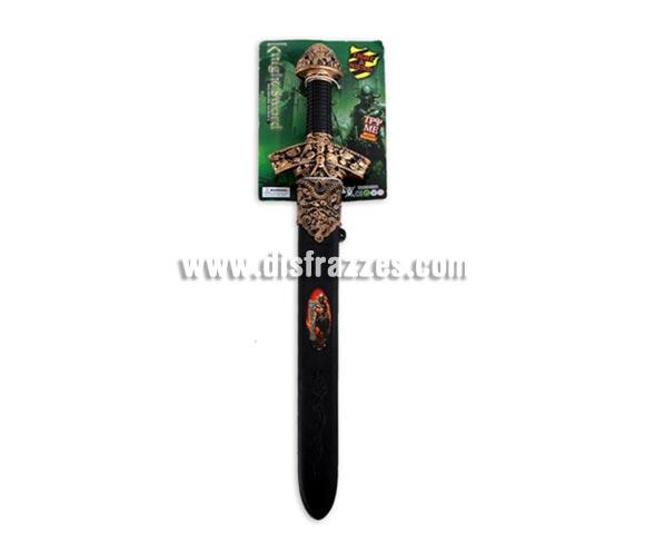 Espada Guerrero de 60 cm. con luz y sonido. Perfecta como complemento de los disfraces de Vikingo, Centurión Romano, Gladiador, Caballero Medieval, etc. etc.
