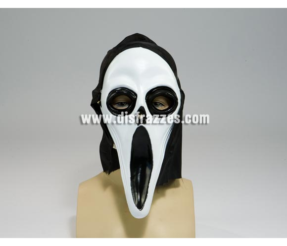 Máscara de Scream de 20 cm. para Halloween.