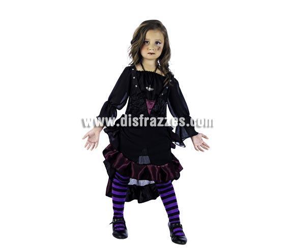 Disfraz de Teen-Vamps Cloe Deluxe para niña. Alta calidad, hecho en España. Disponible en varias tallas. Inlcuye vestido con corpiño.