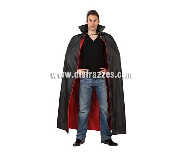 Capa de Vampiro para adultos de 143 cm. Incluye capa.