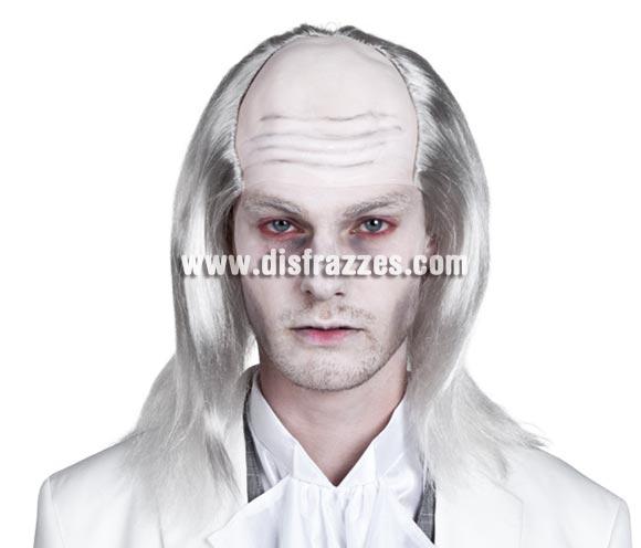 Peluca de Zombie blanco para Halloween.