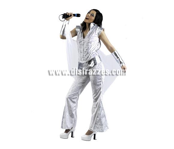 Disfraz de Musical Sophie Deluxe para mujer. Alta calidad, hecho en España. Disponible en varias tallas. Incluye mono con cinturón. Micrófono NO incluido.