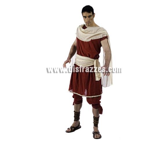 Disfraz de Theón de Alejandria Deluxe para hombre. Alta calidad, hecho en España. Disponible en varias tallas. Incluye pantalón y túnica.