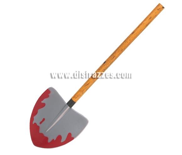 Pala con sangre de 70 cm perfecta como complemento y para decoración de Halloween.
