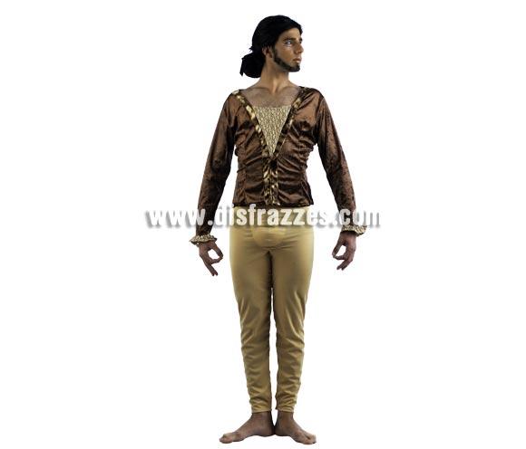 Disfraz de Bailarín Deluxe para hombre. Alta calidad, hecho en España. Disponible en varias tallas. Incluye camisa y pantalón.