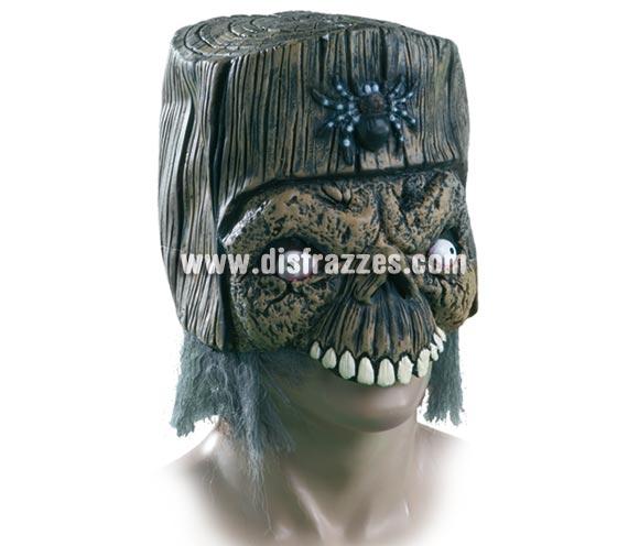 Máscara de Calavera Ojos saltones de látex para Halloween.