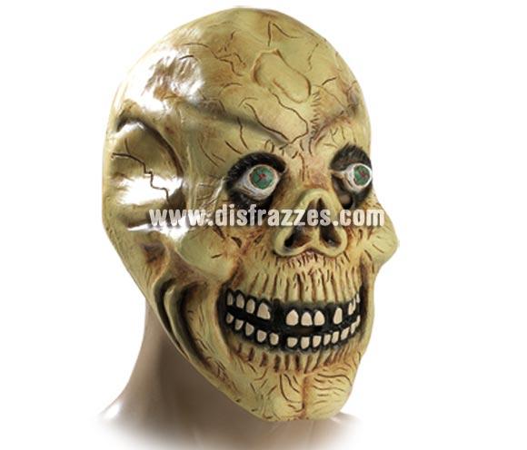Máscara de Calavera de látex para Halloween.
