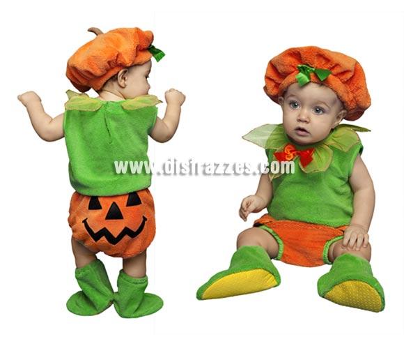 Disfraz de bebé Calabaza para niños y niñas de 6 a 12 meses. Perfecto para Halloween.