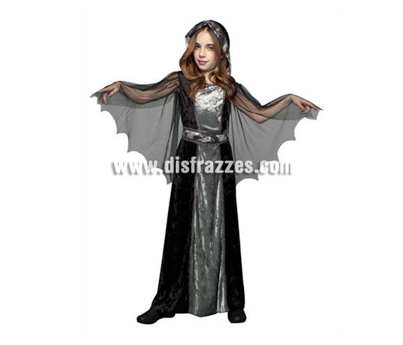Disfraz de Doña Muerte para niñas de 7 a 9 años.