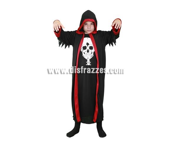Disfraz de Señor de la Cripta para niños de 5 a 6 años para Halloween.