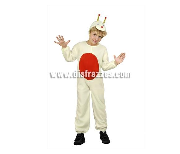 Disfraz de Bichito para niños de 2-4 años. Incluye mono y gorrito.