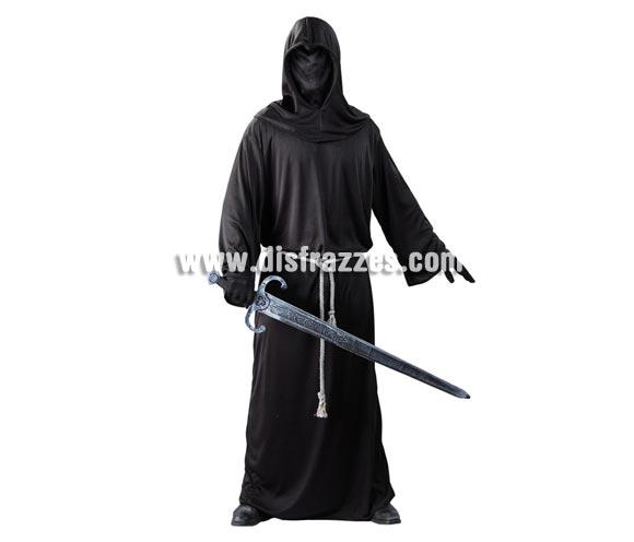 Disfraz de Señor Oscuro para hombre. Talla Standar = 52/54. Incluye capucha, túnica y cinturón.