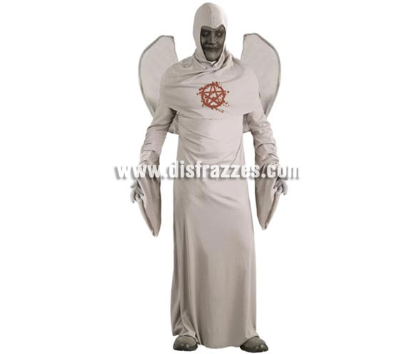Disfraz de Ángel de la Muerte para hombre. Talla Standar = 52/54. Incluye capucha, túnica y alas.
