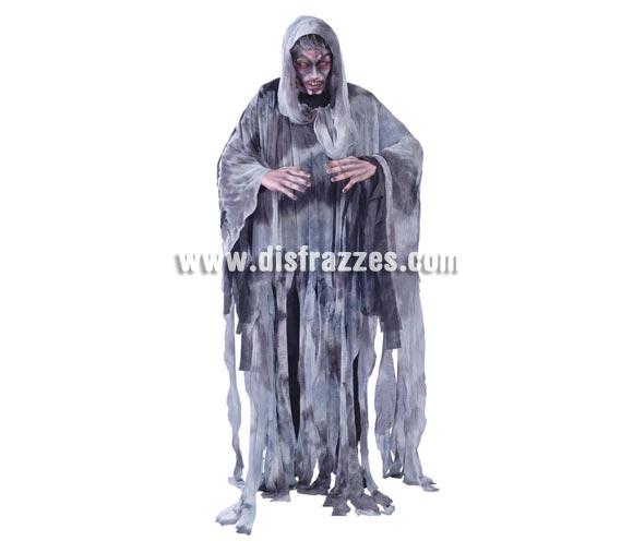 Disfraz de Espíritu del Viento para hombre. Talla Standar = 52/54. Incluye túnica con capucha.