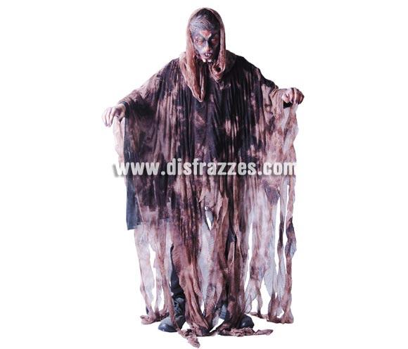Disfraz de Espíritu de Tierra para hombre. Talla Standar = 52/54. Incluye túnica con capucha.