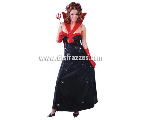 Disfraz barato de Diablesa Hollywood para mujer