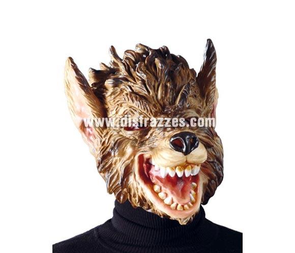 Careta de Lobo para Halloween.