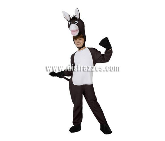 Disfraz de Mula para niños de 5 a 6 años. Incluye traje completo.