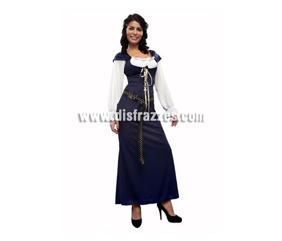 Disfraz de Lady Marian para mujer. Talla standar M-L = 38/42. Incluye vestido y cinturón.