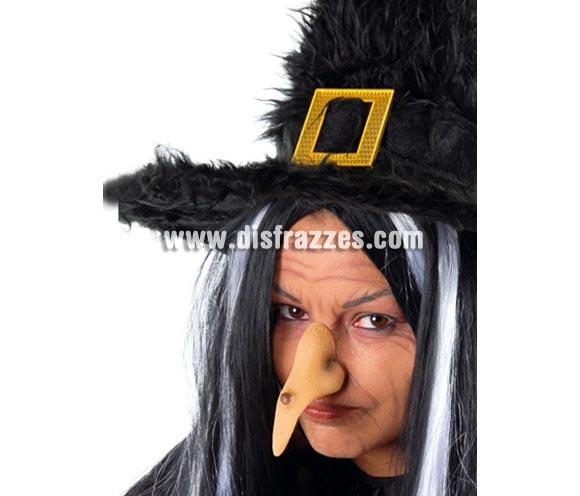 Nariz de Bruja. El Complemento ideal para tu maquillaje de Bruja en Halloween.