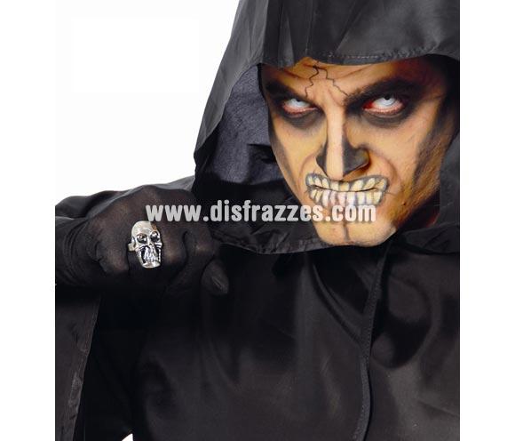 Anillo de Calavera para disfraz de Pirata o para Halloween.