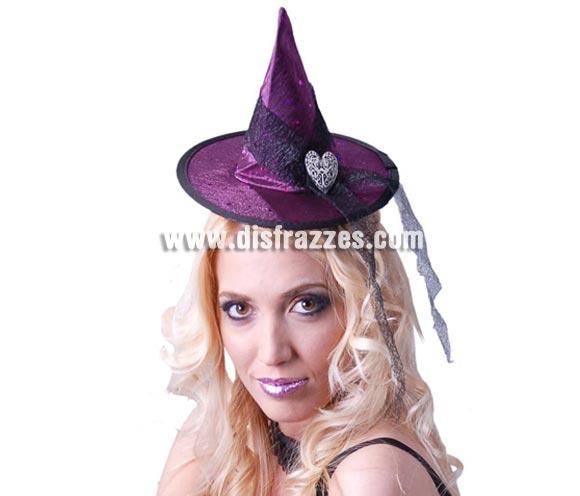 Mini Sombrero de Bruja para Halloween.