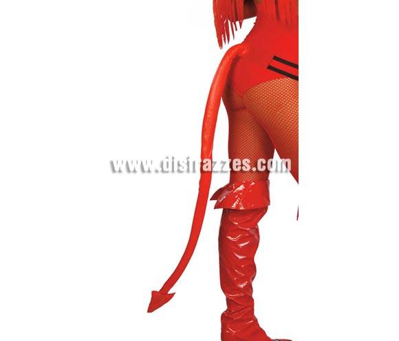 Cola Demonio roja de 90 cm. Perfecta para Despedidas de Soltera.