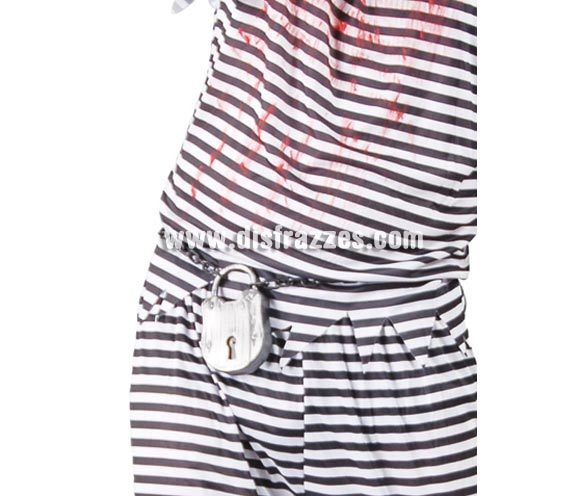 Cadena Candado 12 cm. ideal como complemento de tu disfraz de Halloween y también de Preso, Prisionero o Presidiario.