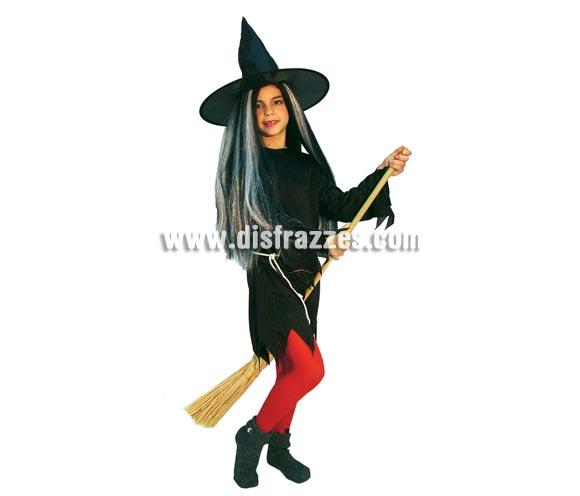 Escoba de 120 cm. para disfraces de Brujas.